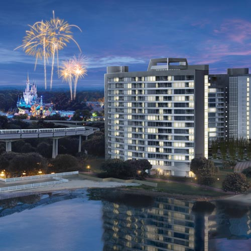 Aaa Insurance Florida >> Bay Lake Tower at Disney's Contemporary Resort - Lake Buena Vista FL | AAA.com