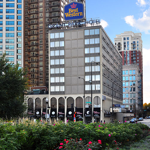 Best Western Grant Park Hotel Chicago Parking