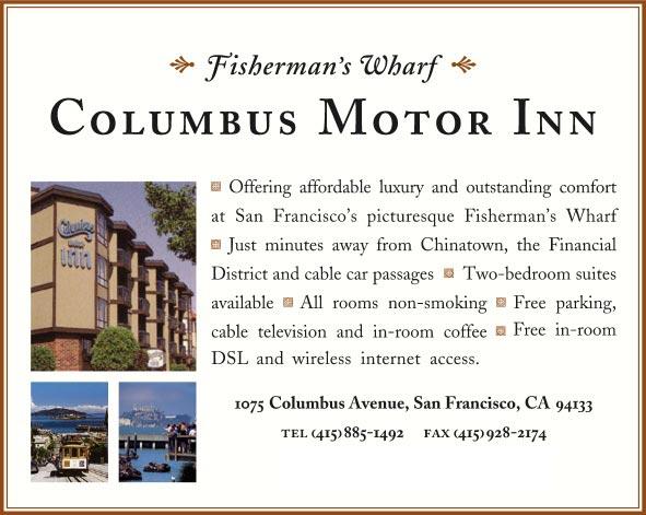 Columbus Inn San Francisco Ca