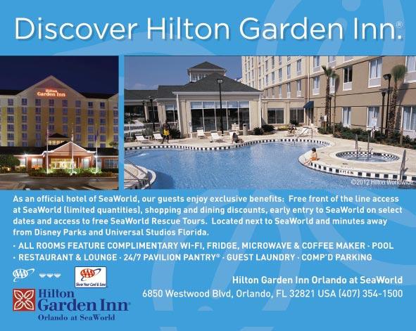 Hilton Garden Inn Orlando At Seaworld Orlando Fl