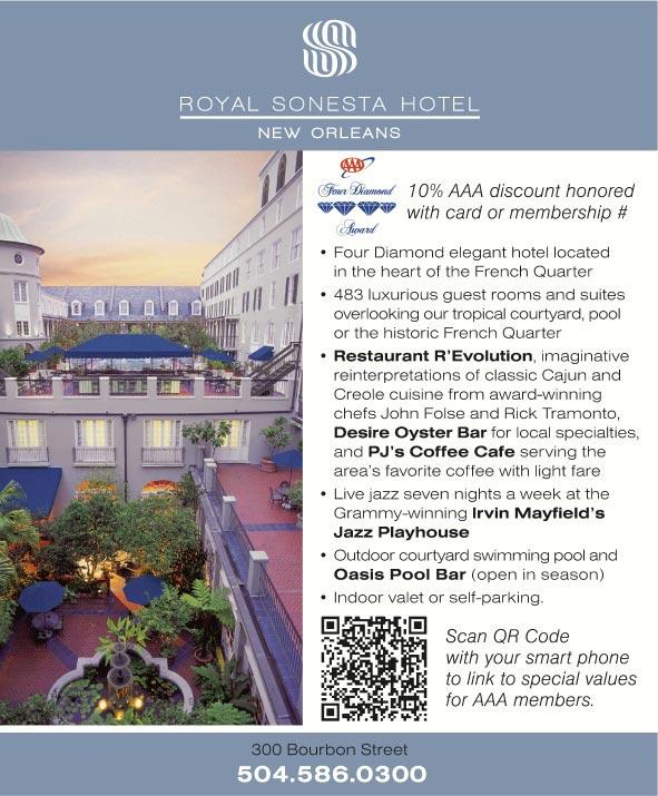 Royal Sonesta Hotel New Orleans New Orleans La Aaa Com