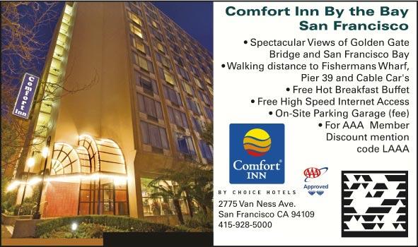 comfort inn by the bay san francisco ca. Black Bedroom Furniture Sets. Home Design Ideas