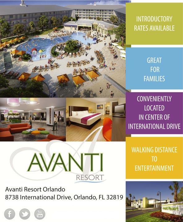 Brilliant Avanti Resort Orlando  Orlando FL  AAAcom