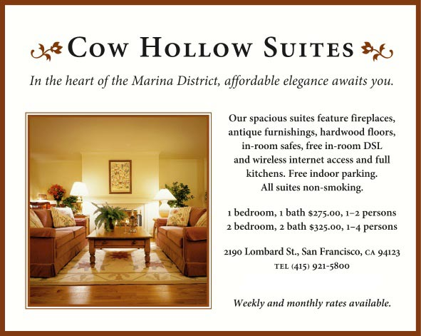 Cow Hollow Motor Inn Suites San Francisco Ca