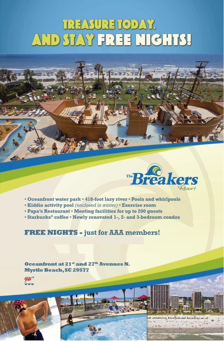 Breakers Resort Myrtle Beach Condo Rentals