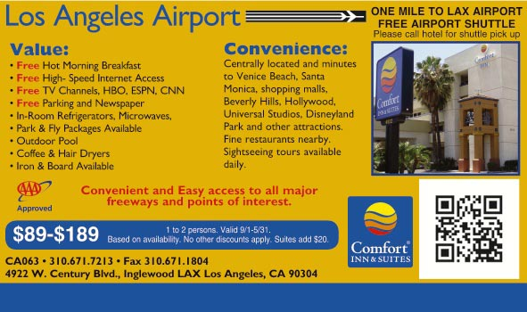 Best Hotels Lax With Coin Laundry