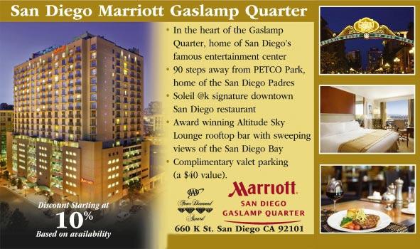 San Diego Marriott Gaslamp Quarter - San Diego CA | AAA.com