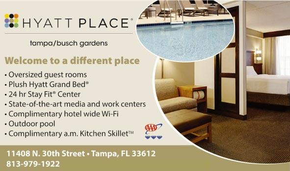 hyatt place tampa busch gardens tampa fl. Black Bedroom Furniture Sets. Home Design Ideas