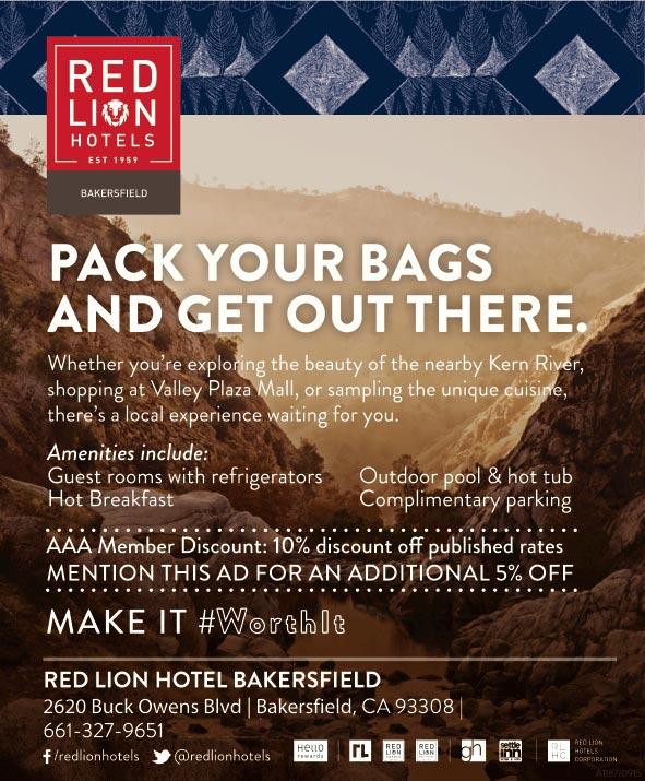 red lion bakersfield bakersfield ca. Black Bedroom Furniture Sets. Home Design Ideas