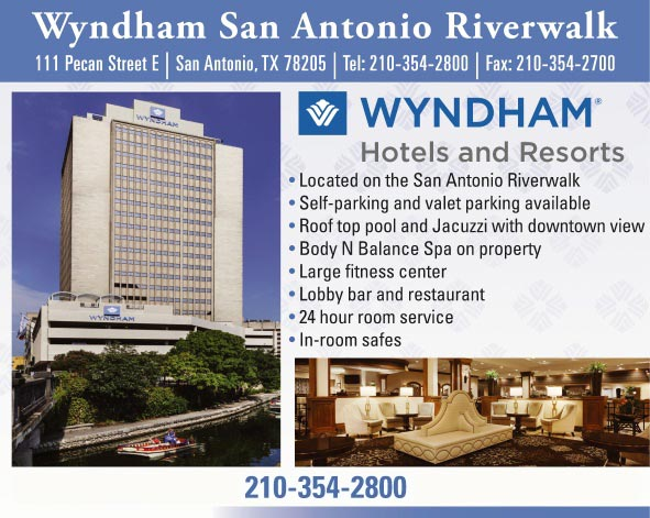 The wyndham san antonio riverwalk hotel san antonio tx - Wyndham garden san antonio riverwalk ...