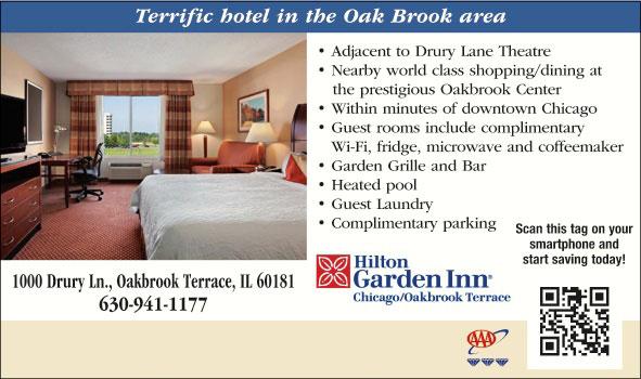 Hilton garden inn chicago oak brook oakbrook terrace il for 1000 drury lane oakbrook terrace il 60181