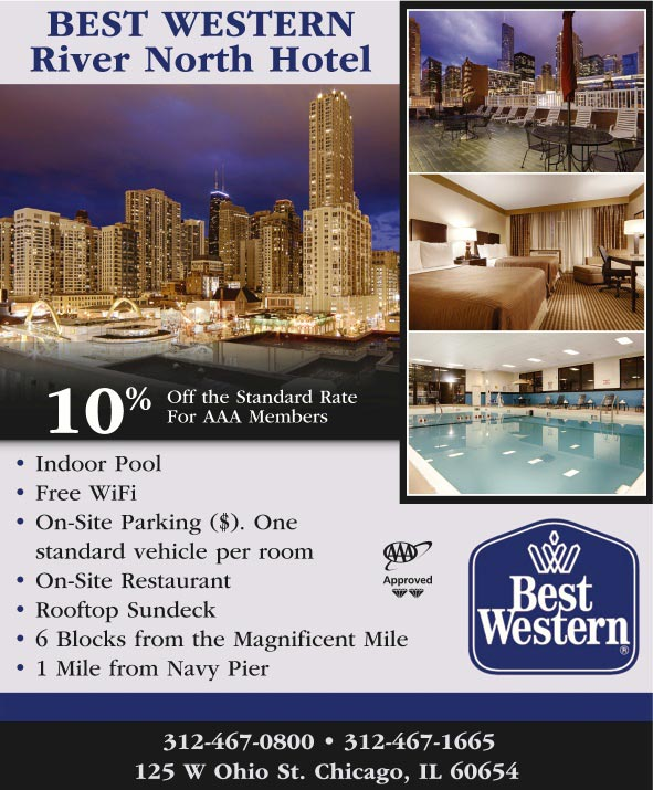 Best western river north hotel chicago il for Best hotels in river north chicago