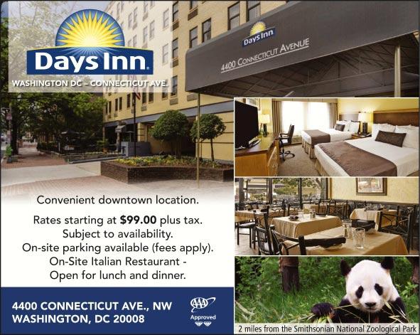 days inn washington dc connecticut avenue washington dc. Black Bedroom Furniture Sets. Home Design Ideas