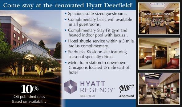 Hyatt regency deerfield il aaa