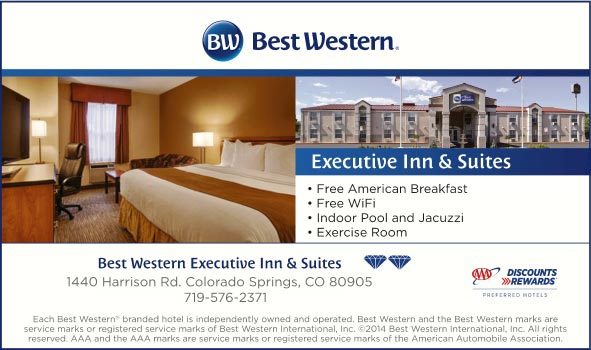 Best Western Executive Inn Suites Colorado Springs Co