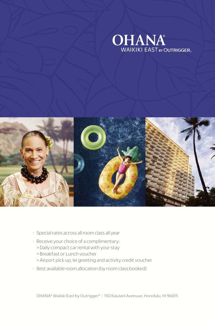 Ohana Waikiki East By Outrigger Honolulu Hi Aaa