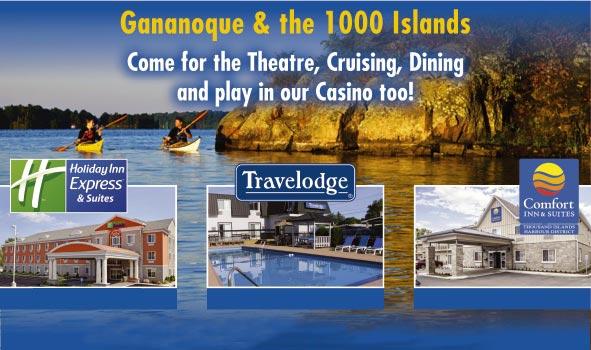 Hotels Motels Gananoque Ontario