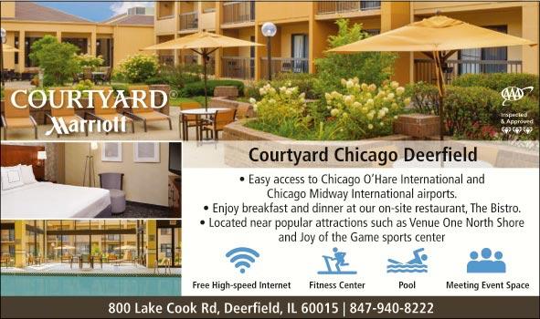 Courtyard by marriott chicago deerfield il