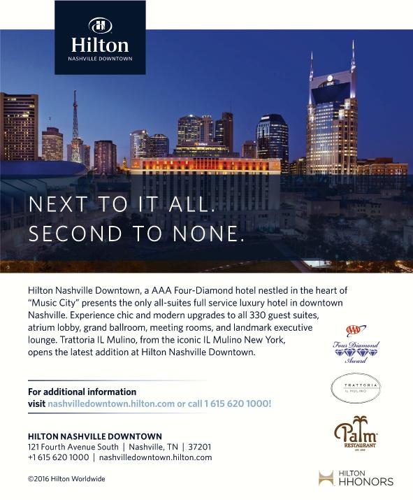 Hilton Nashville Downtown Nashville Tn Aaa Com
