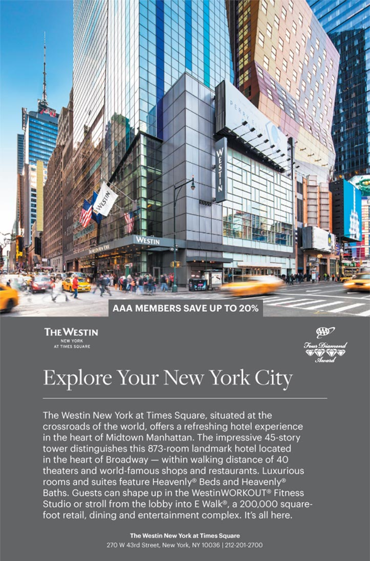 The Westin New York at Times Square - New York NY | AAA com