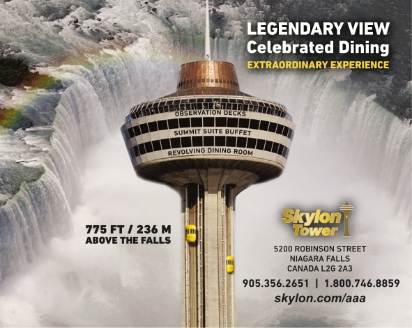 The Skylon Tower Dining Rooms