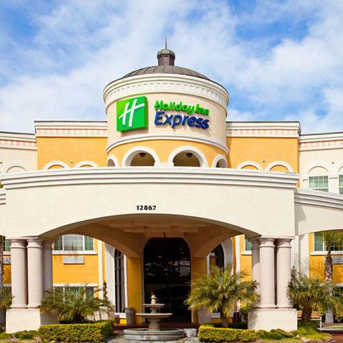 Holiday Inn Express Hotel Suites Garden Grove Garden
