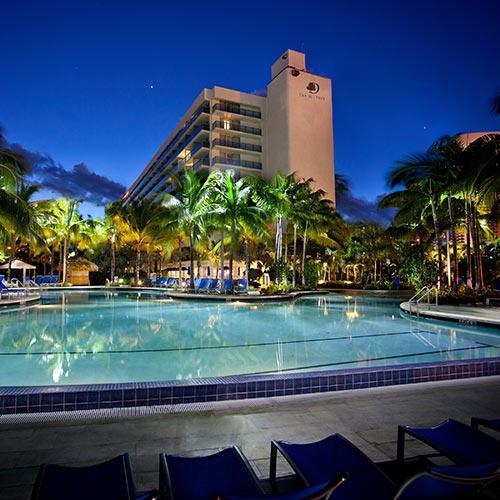 Hollywood Beach Florida Pavilion