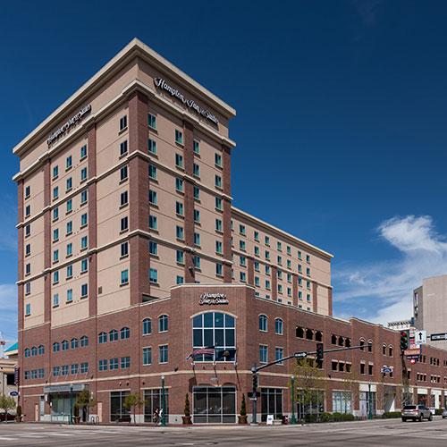 hampton inn suites boise downtown boise id. Black Bedroom Furniture Sets. Home Design Ideas