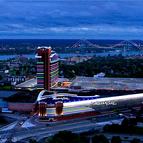 Motorcity casino hotel detroit mi for Hotels close to motor city casino