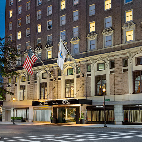 Boston Plaza Hotel Parking