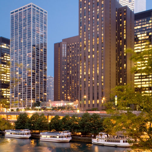 Hyatt regency chicago chicago il for Chicago hotels 60611