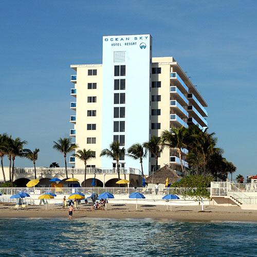 ocean sky hotel resort fort lauderdale fl. Black Bedroom Furniture Sets. Home Design Ideas