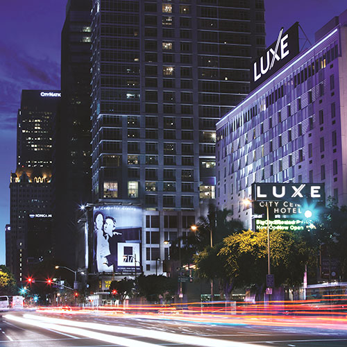 luxe city center hotel los angeles ca. Black Bedroom Furniture Sets. Home Design Ideas
