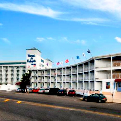 Cape May Hotels On Beach Ave