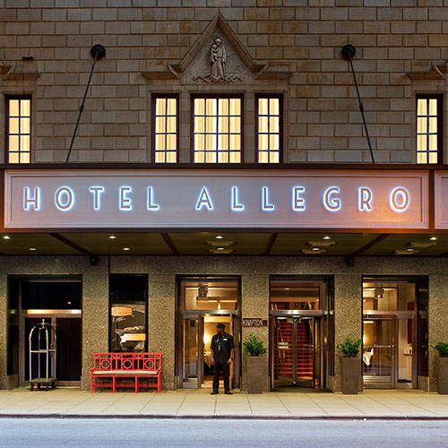 Kimpton hotel allegro chicago il for Hotels 60657