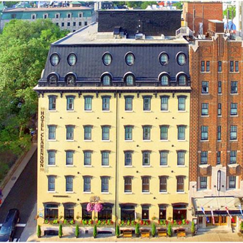 Hotel Clarendon Quebec Pool