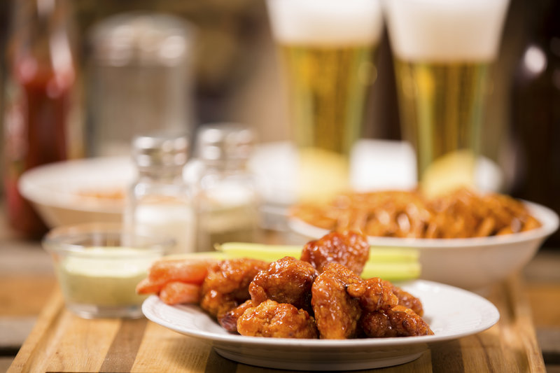 Buffalo Chicken Wings, Pub, Beer, Alcohol, Beer Bottle, Chicken Wing, Sports Bar, Restaurant, Bar