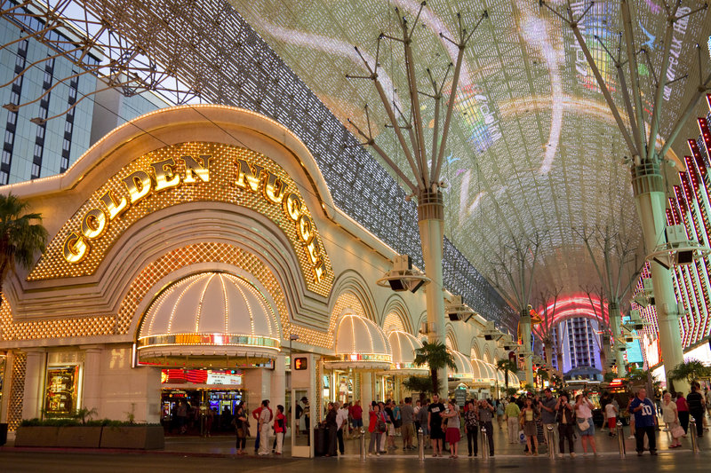 Golden Nugget, Las Vegas, Fremont Street, EDITORIAL USE ONLY