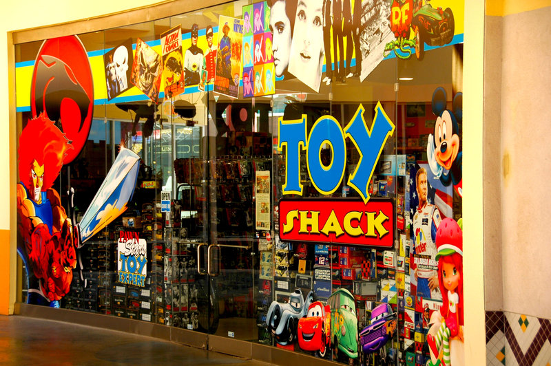 Toy Shack, Las Vegas, Fremont, shopping  EDITORIAL USE ONLY