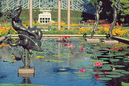Missouri Botanical Garden St Louis Mo Aaa Com