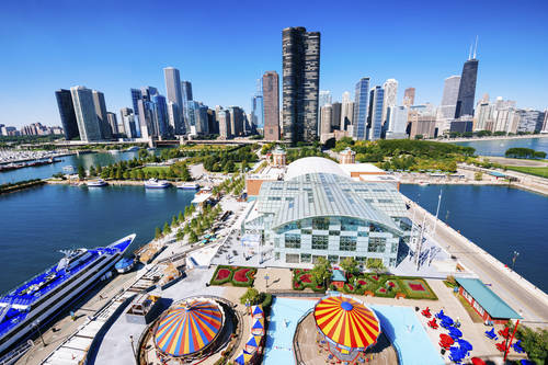 Visit Chicago. The Bulls, the Bears, deep-dish pizza, Shedd Aquarium and The Magnificent Mile. There's so much to do and see in Chicago, you could never do it in a day.