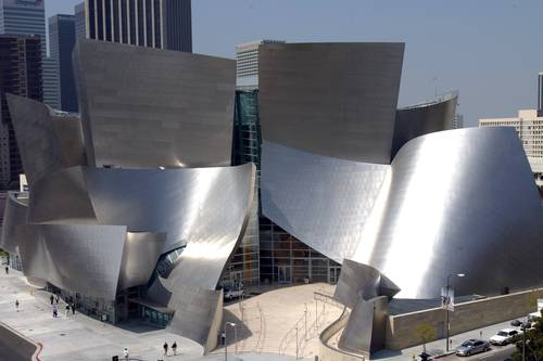 Walt Disney Concert Hall Los Angeles Ca Aaa Com
