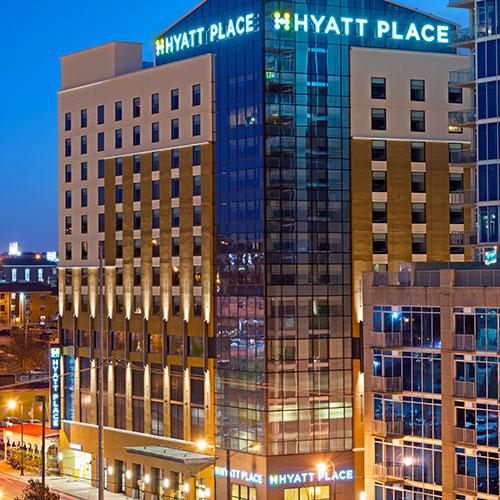 7 Hyatt Place Nashville Downtown