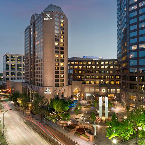 2 Hilton Charlotte Center City