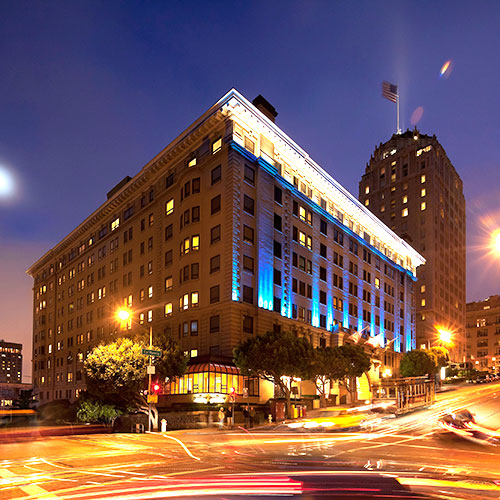 Edwardian Hotel In San Francisco
