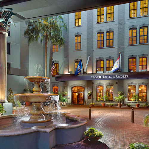 104 Omni Riverfront Hotel