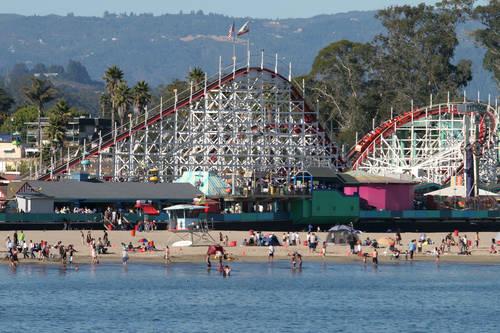 Santa Cruz Beach Boardwalk - Santa Cruz CA